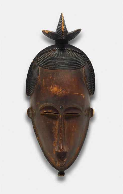 Portrait Face Mask (Mblo) with Bird