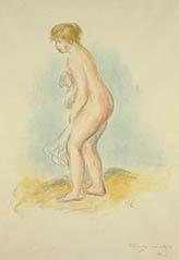 Baigneuse debout, en pied (Standing Bather)