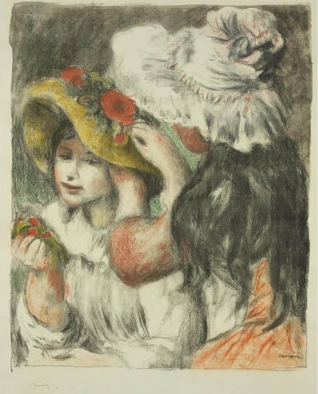 Le chapeau épinglé (Pinning the Hat)
