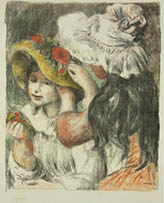 Le chapeau épinglé (Pinning the Hat)