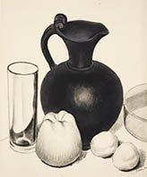Still Life, Pitcher